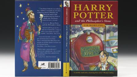 Похищено первое издание книги о Гарри Поттере