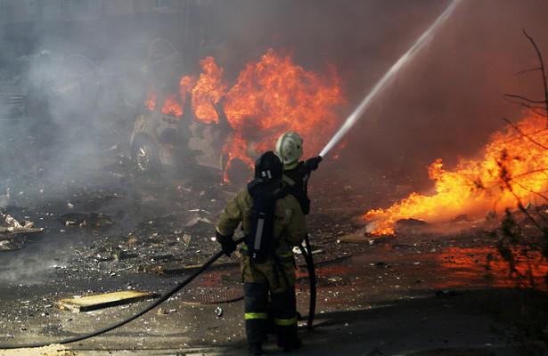 """В Москве горит рынок """"Садовод"""" Ильхама Рагимова"""