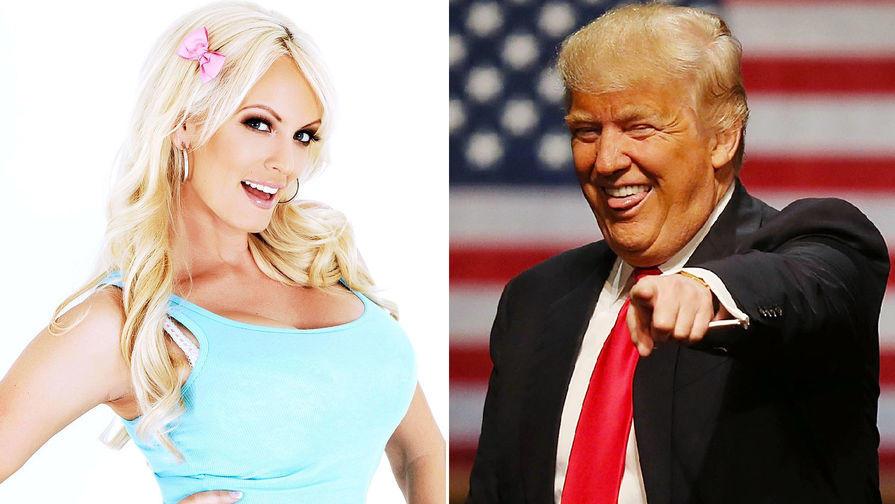 Порнозвезда рассказала о любви с Трампом