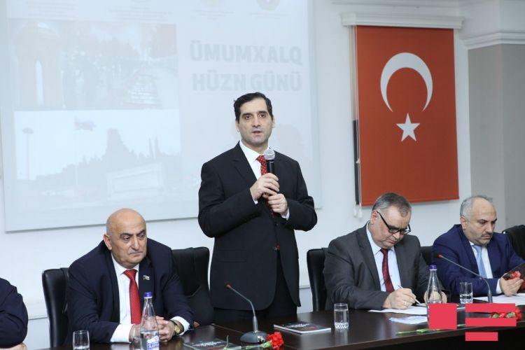 20 Yanvar şəhidlərinin ailələri ilə görüş keçirildi - Foto