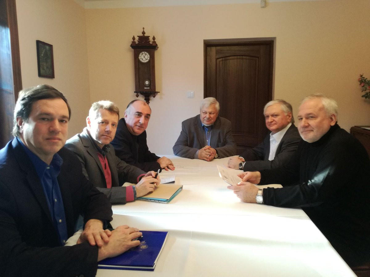 Завершилась встреча Мамедъярова с Налбандяном - Обновлено