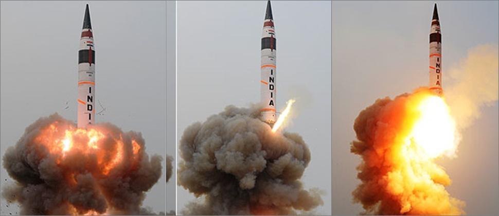 هیندیستان ان گوجلو بالیستیک راکتینی سیناقدان کئچیردی