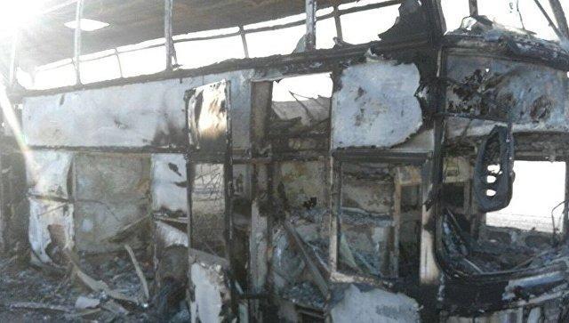 Подробности трагедии с автобусом в Казахстане