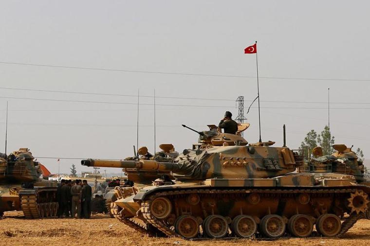 Türk ordusunun zərbəsi: düşmən ağır itki verdi - Foto
