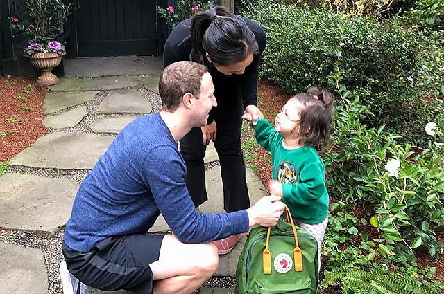 Двухлетняя дочь Цукерберга пошла в детский сад