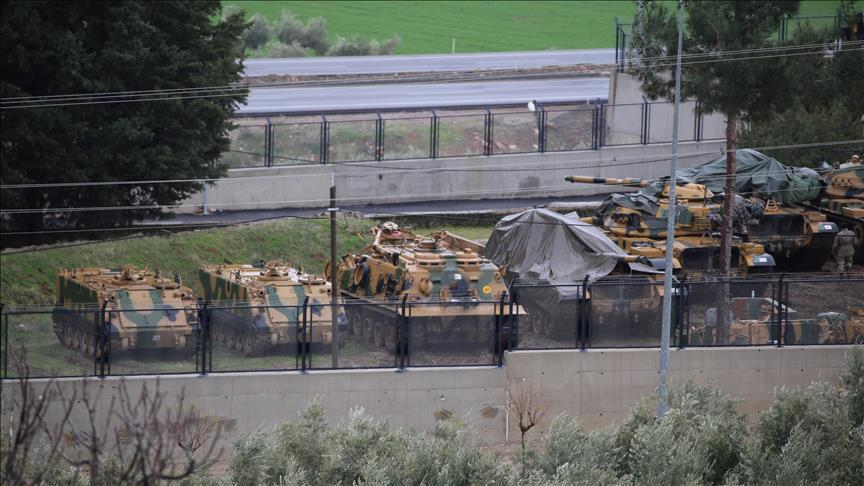 Турция стягивает спецназ на границу с Сирией
