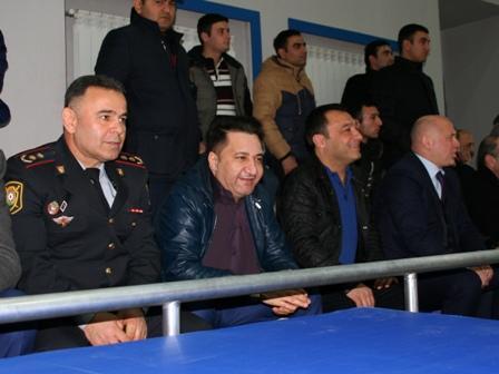 Polislərimiz yarışda: Usubov qalibi mükafatlandırdı - Foto