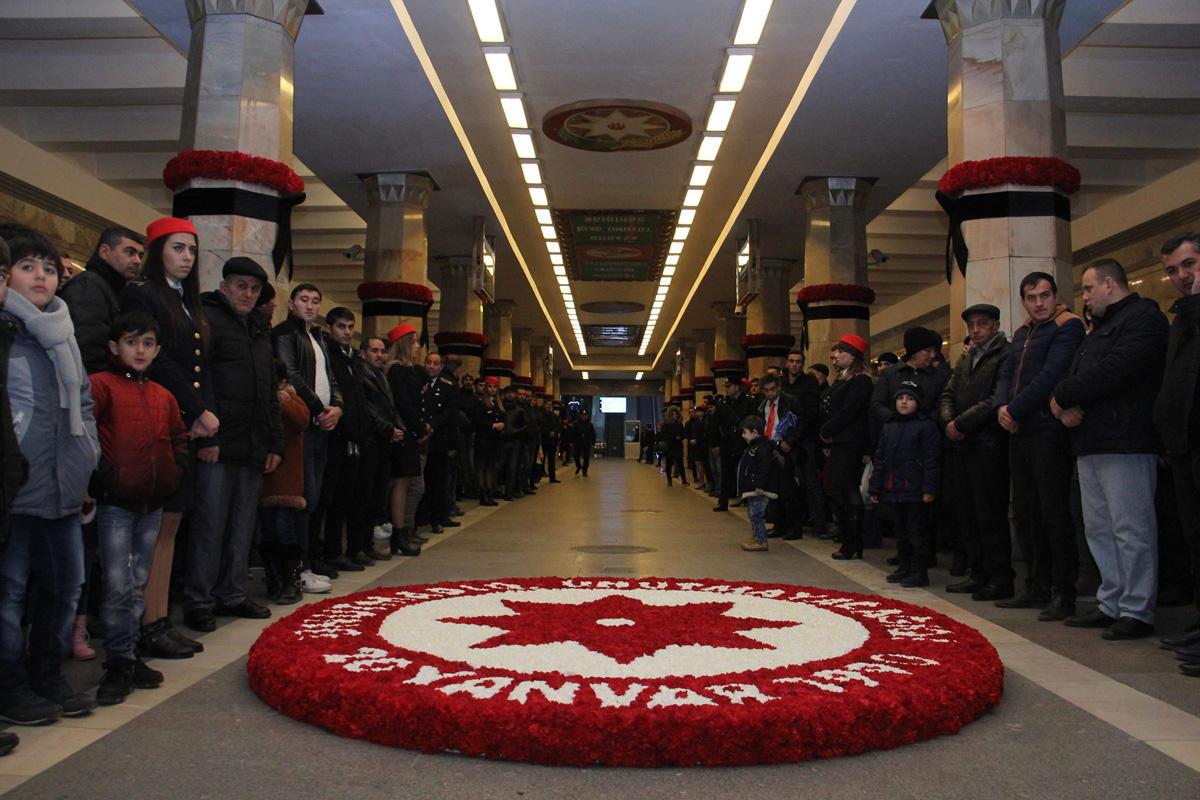 В метрополитене почтили память жертв трагедии 20 Января