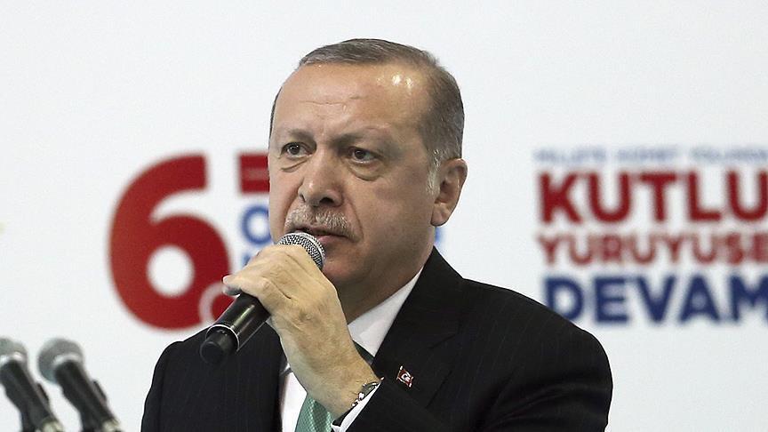 Ərdoğan şəhid ailələrinə səsləndi: Sizin 81 milyon...