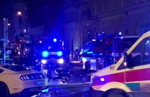 Пожар в Праге: двое погибли, сорок пострадали