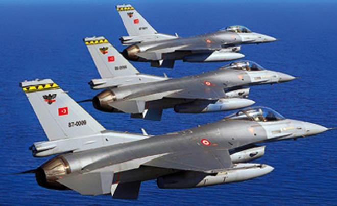 ВС Турции уничтожили позиции террористов  PYD/YPG