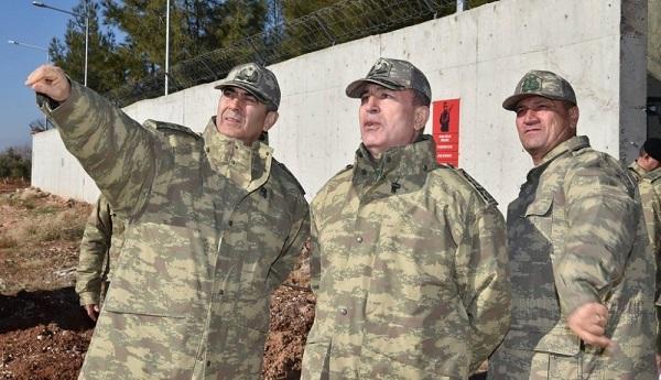 باش قرارگاه رئیسی سورییا سرحدینه یوللاندی