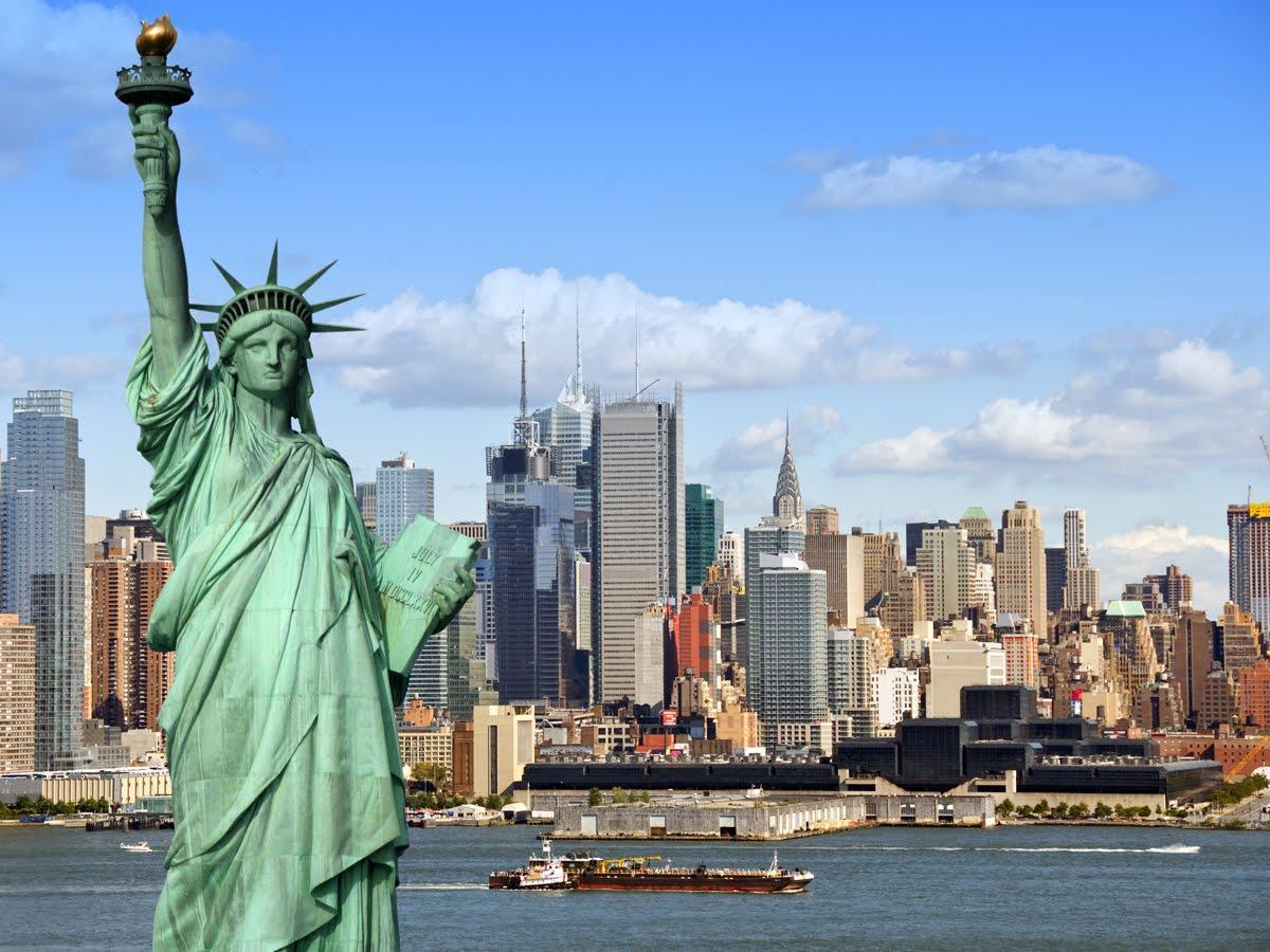 Статуя Свободы закрыта из-за отсутствия денег