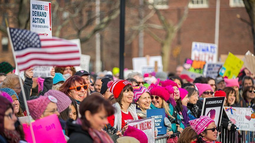 Женщины всей Америки против Трампа - Марш