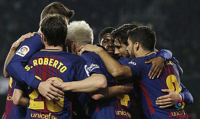 «Барселона» разгромила «Бетис» - Видео