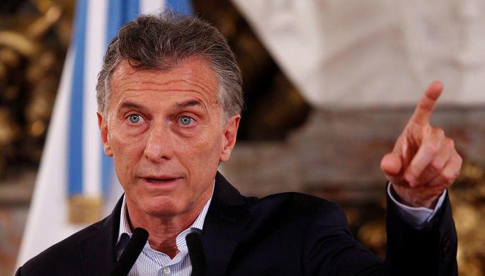 В Москву прилетел президент Аргентины