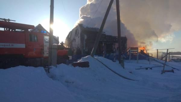 Omsk fire killed 5 foster children