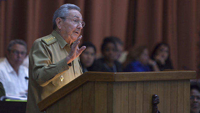 Raul Castro resigned