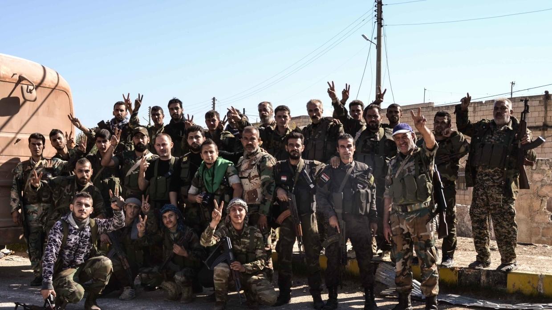 """Асад и его сторонники захватили авиабазу """"Абу Зухур"""""""