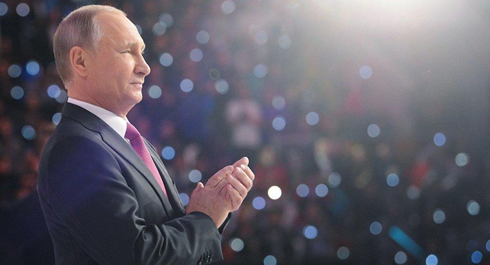 """Бакинский журнал выбрал Путина """"Человеком года"""""""
