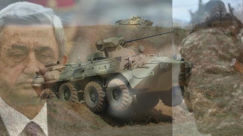 جبههیه گؤندریلن سلاحلار ایروانی ولولهیه سالدی - ویدئو