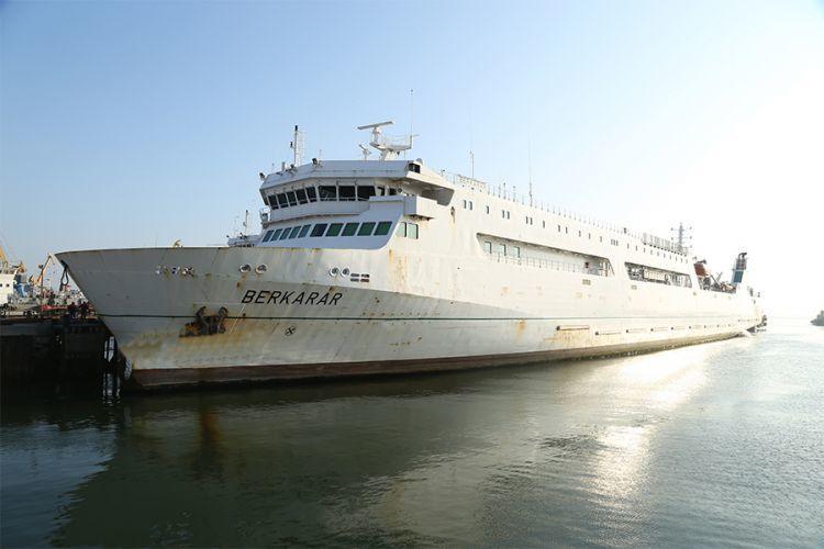 Türkmənistan gəmisi Bakıda dayandı -