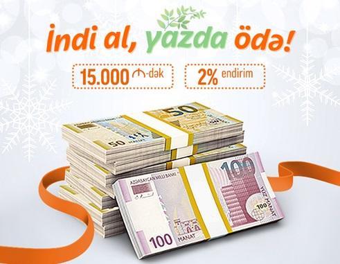"""""""Unibank"""" istehlak və mikro kreditlərin faizini endirdi"""