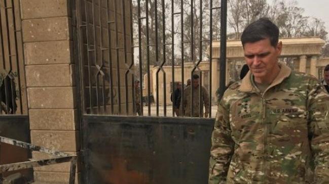 ABŞ generalı YPG düşərgəsinə gəldi: