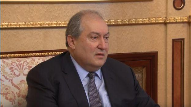 Armenian president calls for amending the constitution