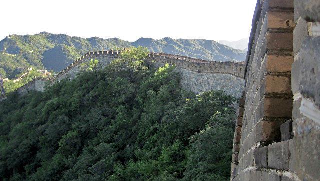 """В Китае появится новая """"Великая стена"""""""