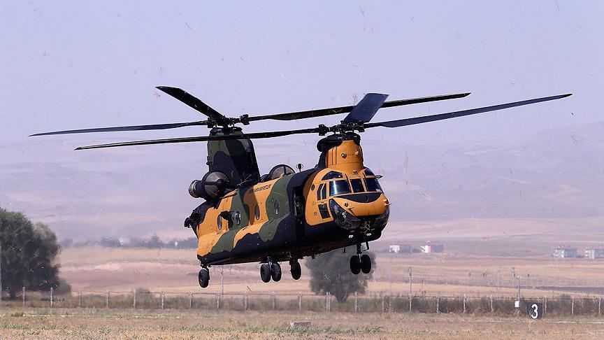 Турция задействовала в Африне свой ударный вертолет