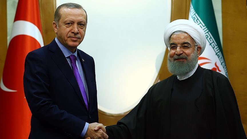 Эрдоган и Рухани провели встречу
