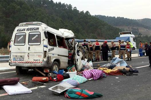 A serious accident in Istanbul: 17 injured