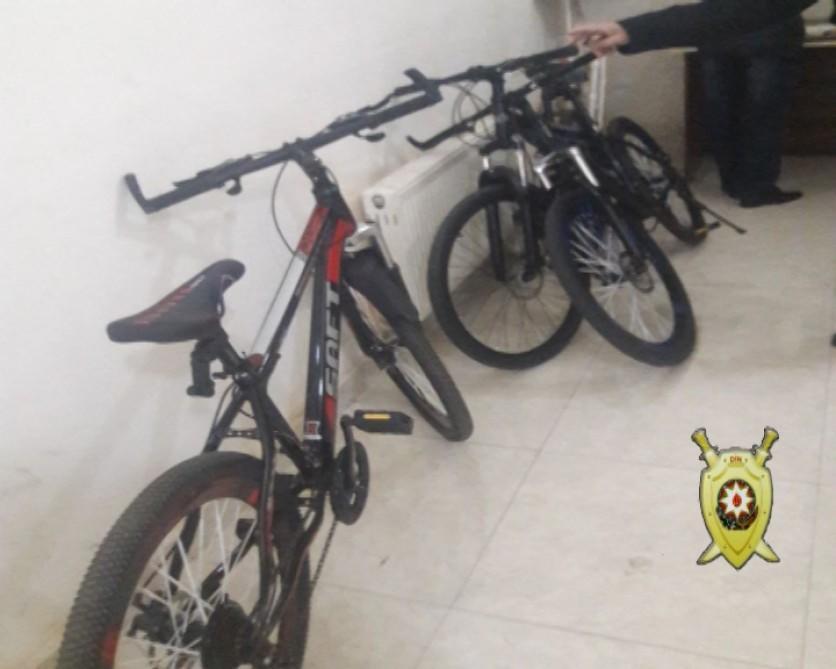 Bakıda velosiped oğrusu tutuldu