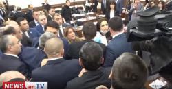 """40 erməni """"Qazprom""""un işçilərini və polisləri döydü"""