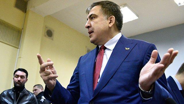Саакашвили купил билет в Киев