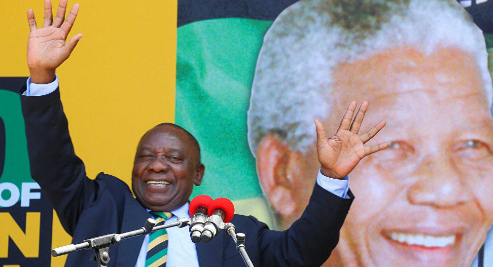S.African president vows to tackle youth unemployment