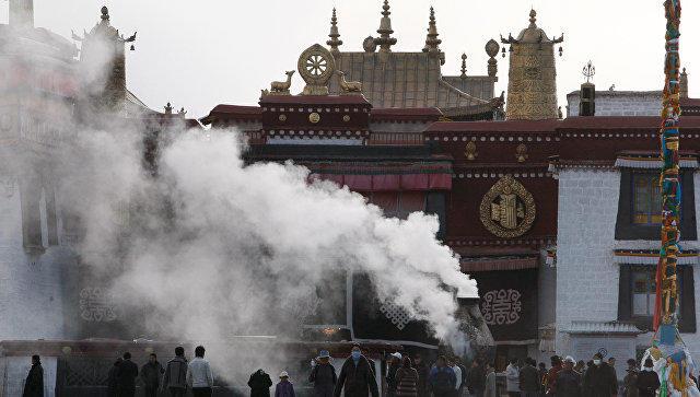 Пожар в Тибетском храме потушен - Обновлено