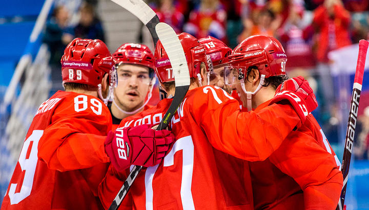 """Российские хоккеисты """"всухую"""" обыграли американцев"""