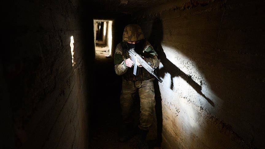 8-ми ярусные тонели террористов