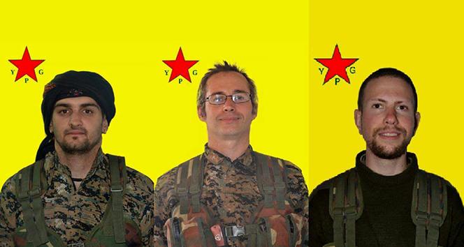 PKK-ya qoşulan 3 avropalı Afrində öldürüldü
