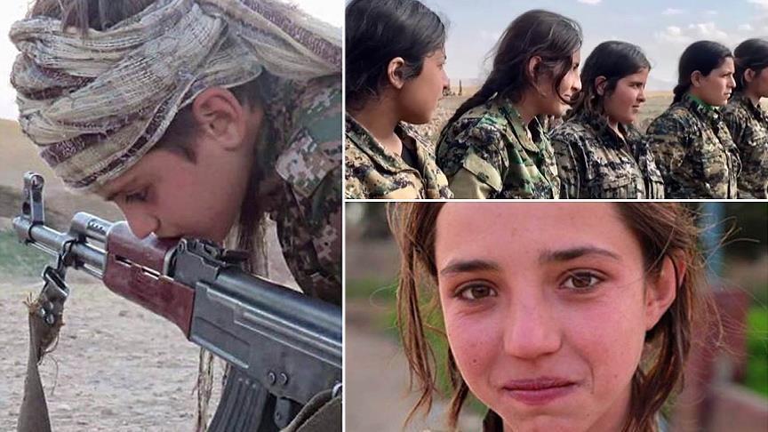 PYD/PKK насильно вербует девочек из арабских семей