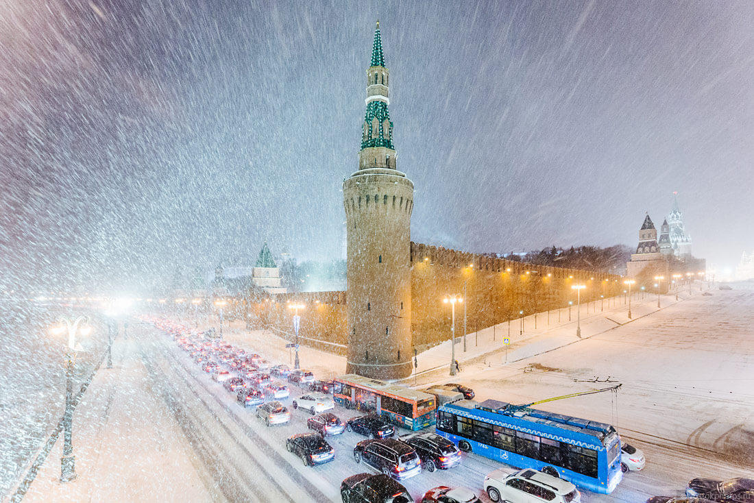 На Москву надвигаются рекордные морозы