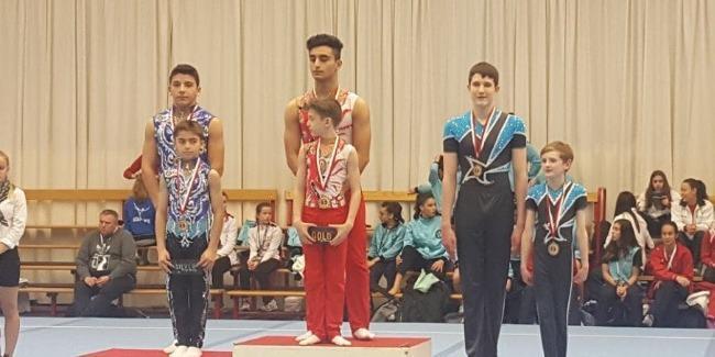Azərbaycan gimnastlarından böyük uğur