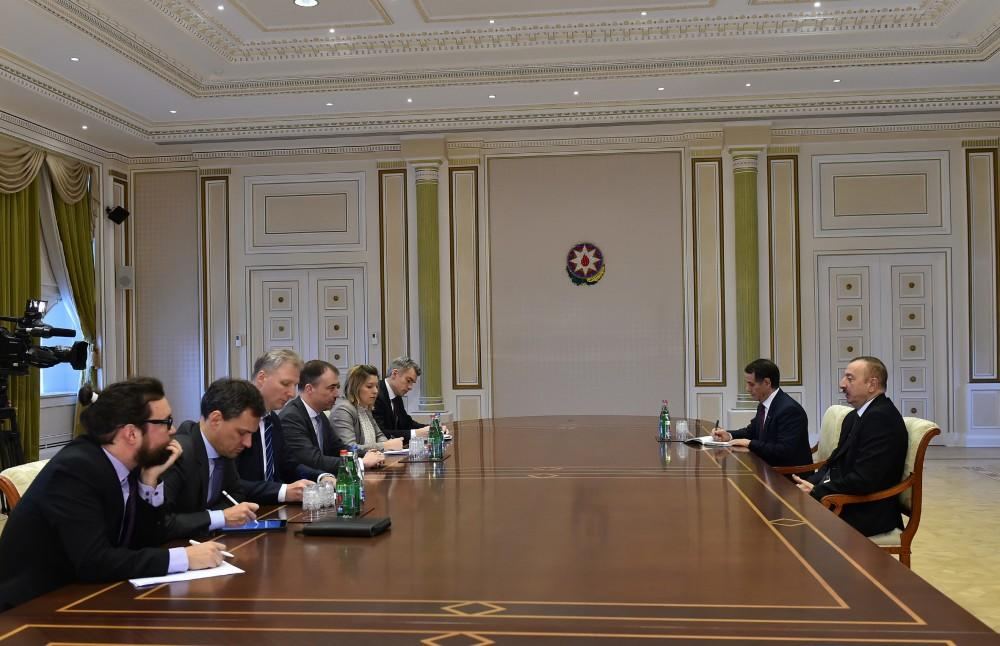 Ilham Aliyev receives Toivo Klaar