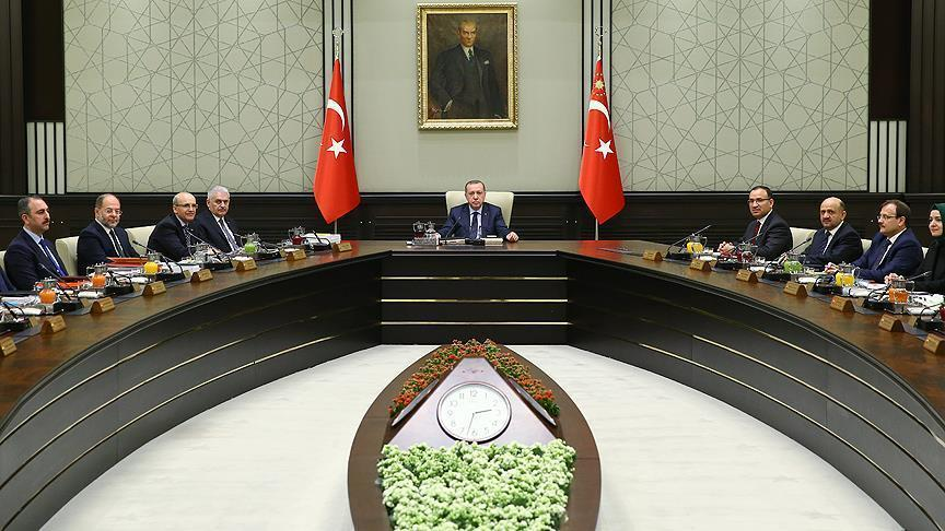 В Анкаре проходит заседание Кабмина Турции