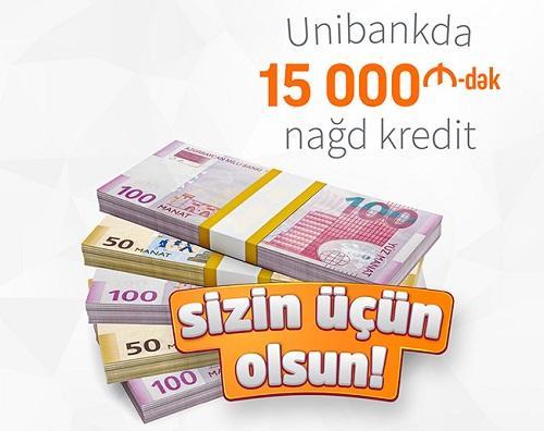 """""""Unibank""""da """"Sizin üçün olsun!"""" kampaniyası başlayır"""