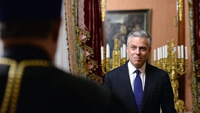 Хантсман и Герасимов провели переговоры