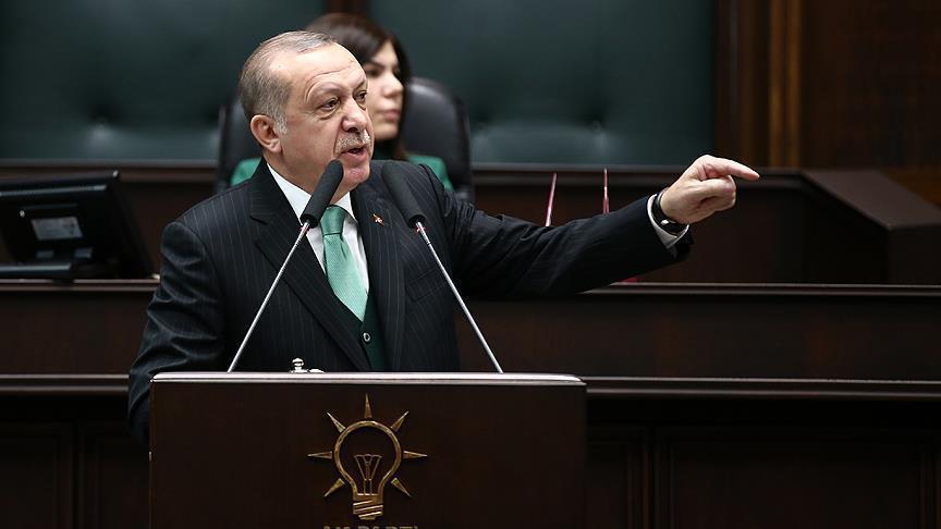اردوغان پرزیدنت صلاحیتلرینی اونا وئردی