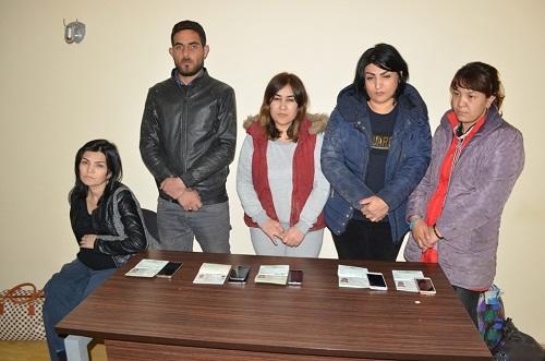 Azərbaycandan İrana aparılan qadınlar tutuldu - Foto